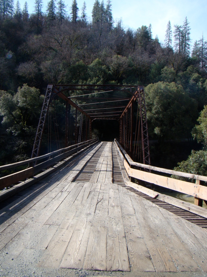 Purdon crossing bridge over the Yuba
